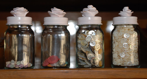 studio button jars