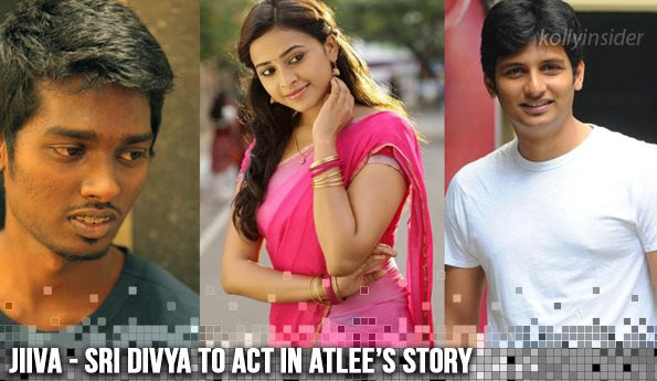 Jiiva - Sri Divya to play lead role in Atlee's story