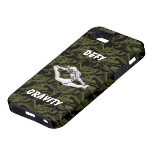 Defy Gravity Black Silk Vibe iPhone 5 Case