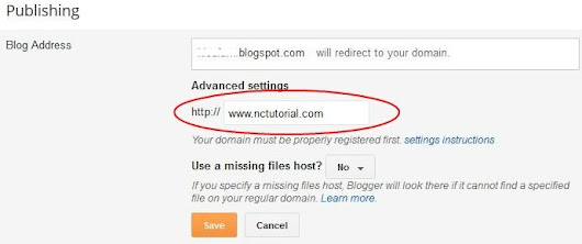 How To Redirect .blogspot To Your Custom Domain With Namecheap.