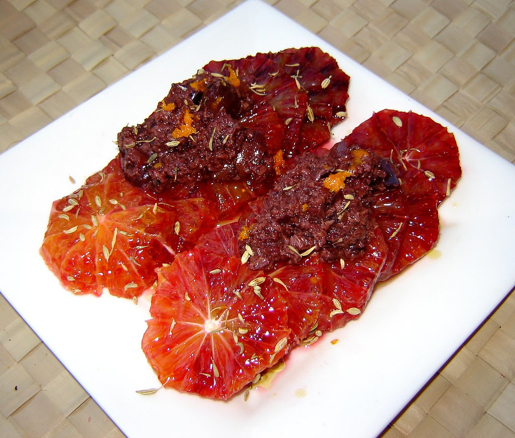 Blood Orange & Kalamata Olive Salad 2