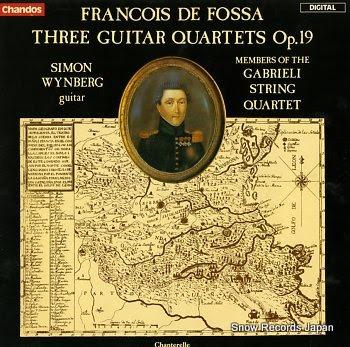 WYNBERG, SIMON francois de fossa; guitar quartets