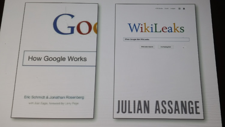 Julian Assange-Google