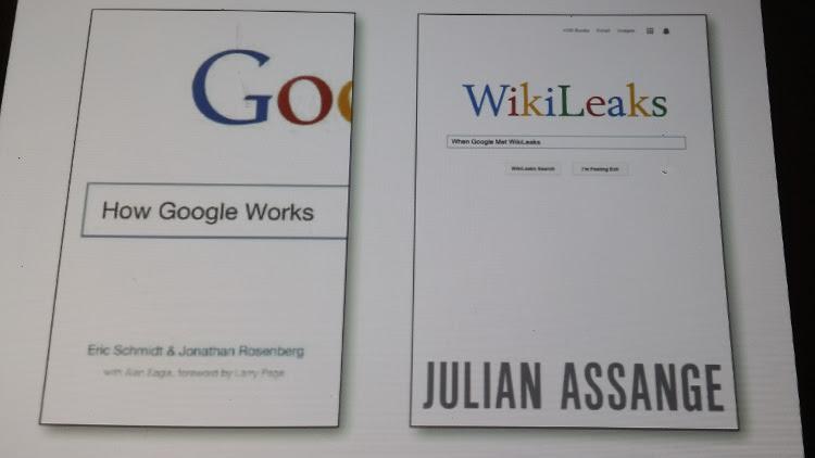 Julian Assange-Google