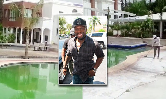 50 Cent shows off his palatial new home in Africa amidst bankruptcy