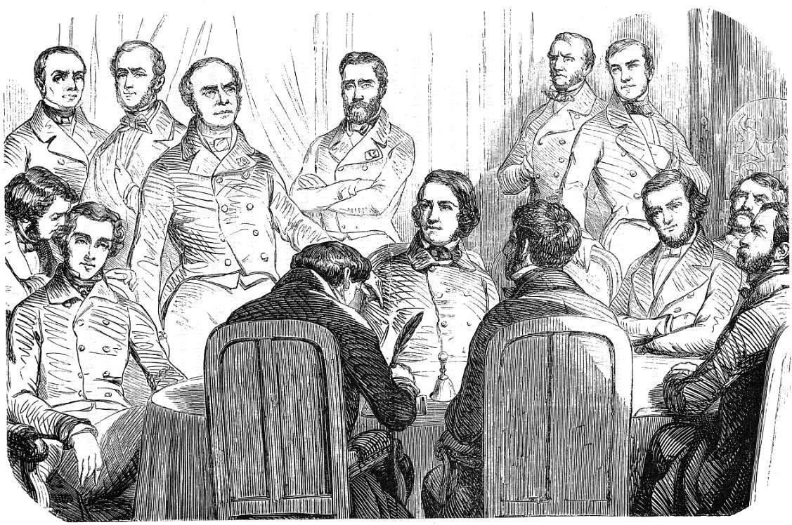 Tocqueville at the 1851 'Commission de la révision de la Constitution à l'Assemblée nationale.'