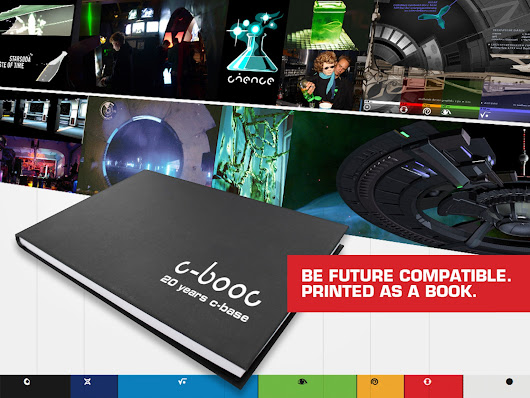 c-booc - 20 years of c-base in a book by Mirko 'macro' Fichtner — Kickstarter