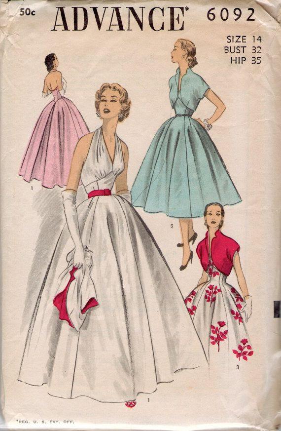 Advance sewing pattern