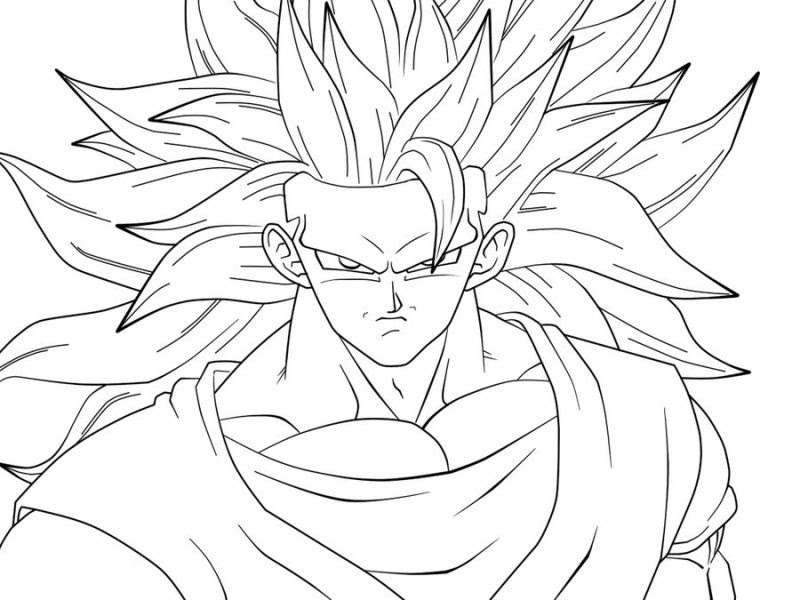 Goku Ultra Instinct Coloring Pages Ofertasvuelo