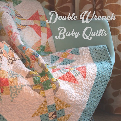 Double Wrench Baby Quilts : finished quilts
