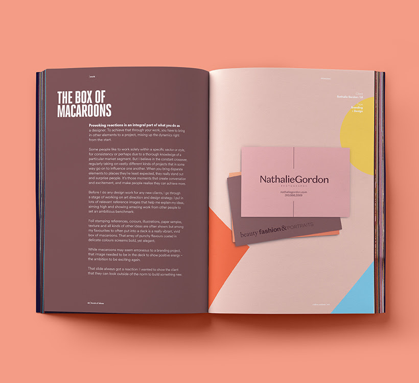 Book Sample Book Of Ideas A Graphic Design Journal By Radim Malinic
