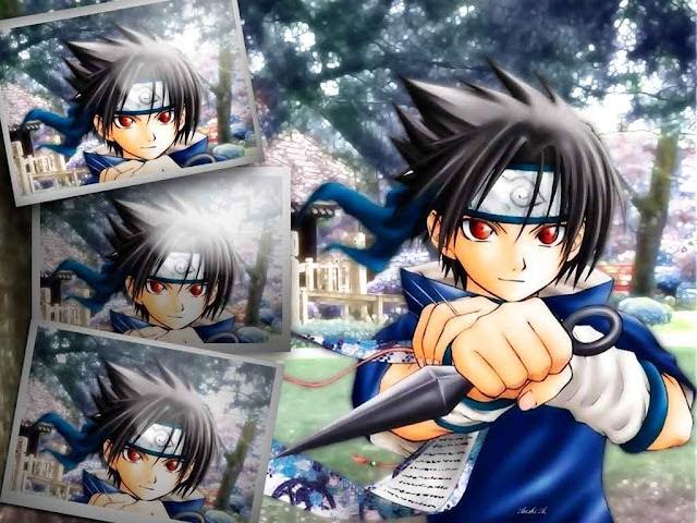 Naruto Wallpapers - The Young Sasuke