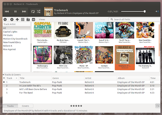 Rhythmbox Cover Art Browser Plugin 2.0 Hits Beta