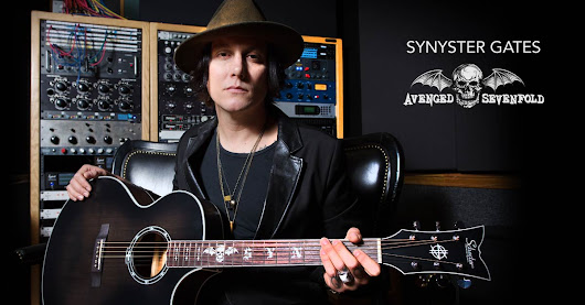 Enter to Win a Schecter Synyster Gates Acoustic Guitar from Fishman