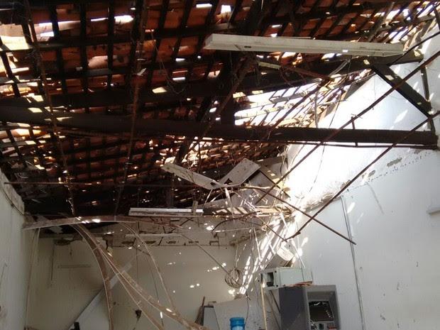 Caixa eletrônico é explodido em Alto Alegre do Maranhão (Foto: Reprodução/ PM)