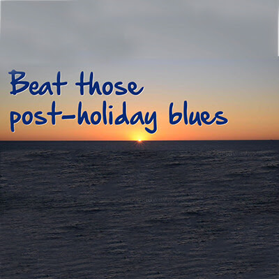 Eight ways to beat the post-holiday blues - APH Parking News