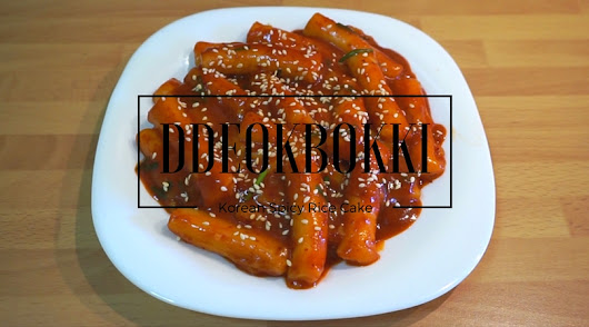 Ddeokbokki (Korean Spicy Rice Cake) - Ada Indonesia !?!