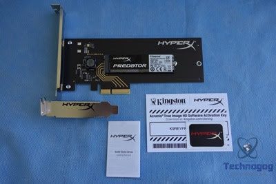 Review of HyperX Predator PCIe SSD | Technogog