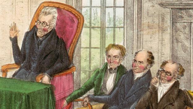 Andrew Jackson's Kitchen Cabinet Video - Andrew Jackson ...