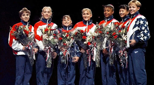 Then and Now: The 1996 Women's Gymnastics Team