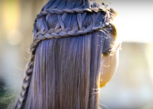 Lattice Braid Combo - Fun Hairstyle For all Girls | How Does She