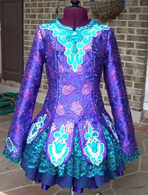 Taoknitter Irish Dance Dress Gallery