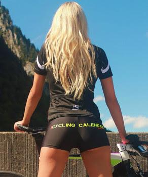 Sexy Cycling Calendar Swiss