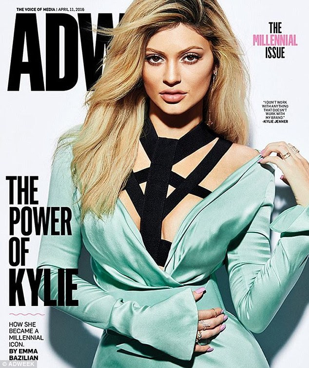 Head for biz: Kylie Jenner talked to AdWeek about her popularity and empire