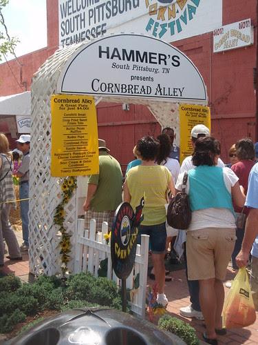 cornbread alley entrance