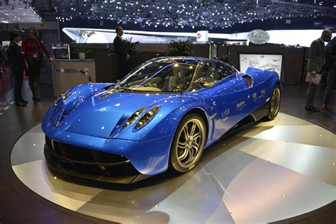 pagani huayra options list shows