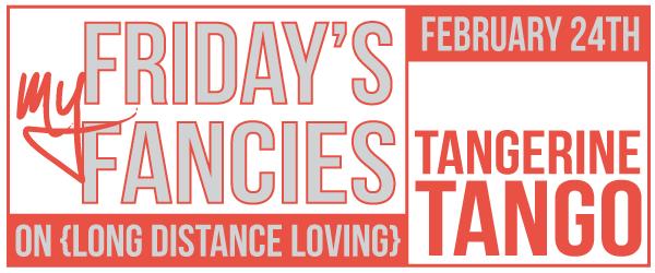 this week: tangerine tango