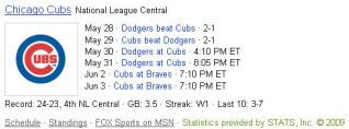 Bing Chicago Cubs