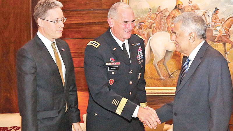US Army's Pacific Region head calls on PM