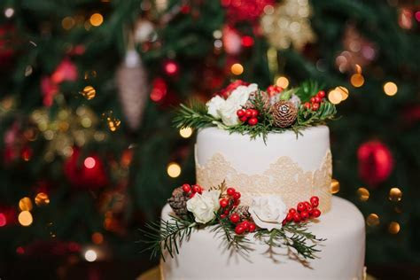 Belle Bridal   5 Ways to Make Your Christmas Wedding