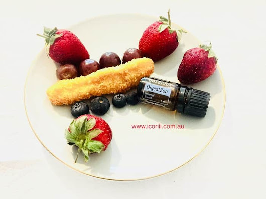 My healthy dinner recipes include oils - Icoriii dōTERRA oils