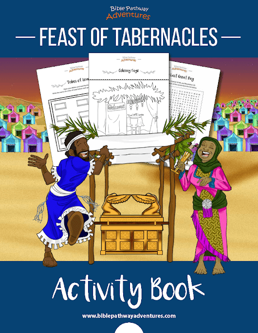 Feast of Tabernacles (Sukkot) Activity Book | Bible Pathway Adventures