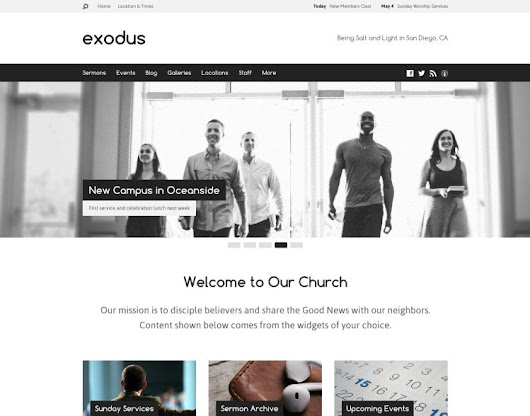 ChurchThemes.com Releases New Church WordPress Theme [Giveaway] - ChurchMag