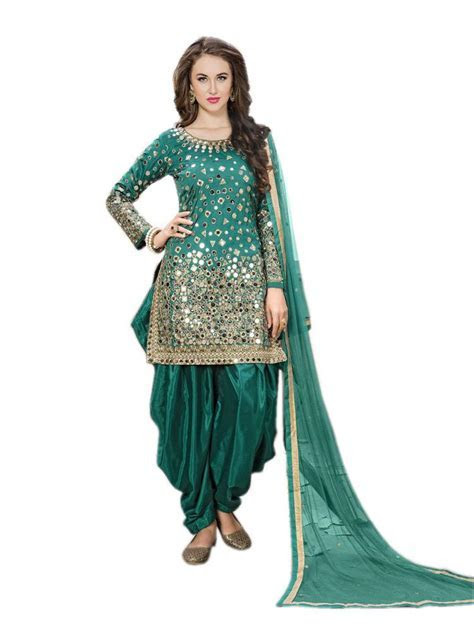 Punjabi suits for women party wear indian salwar kameez
