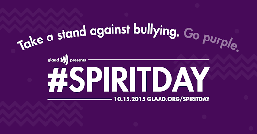 Pledge to go purple for #SpiritDay 2015