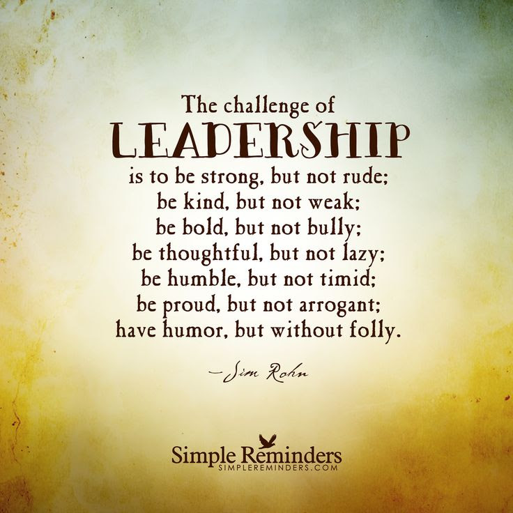 Good Leader Inspirational Quotes Quote About Great Leaders