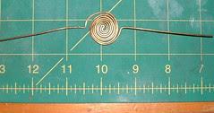 shawl pin 1st step