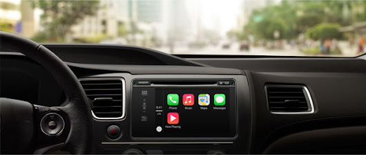 Apple announces CarPlay: in-vehicle voice and touch access to notifications, maps and music