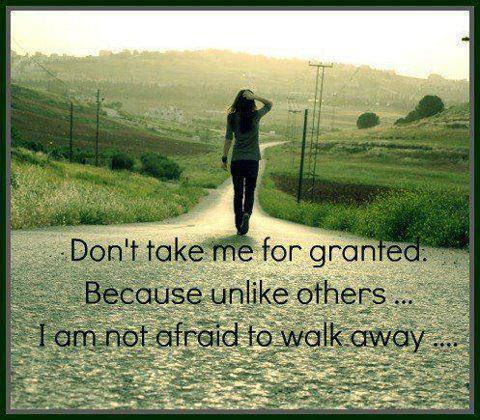 Beautiful Quotes About Not Being Taken For Granted Mesgulsinyali