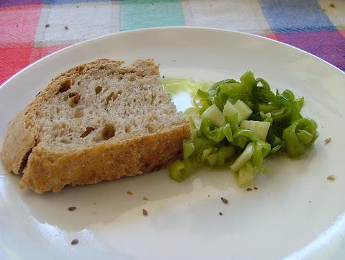 pilacca con pane semintegrale