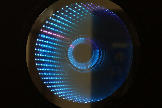 Creating an infinity mirror clock with Arduino