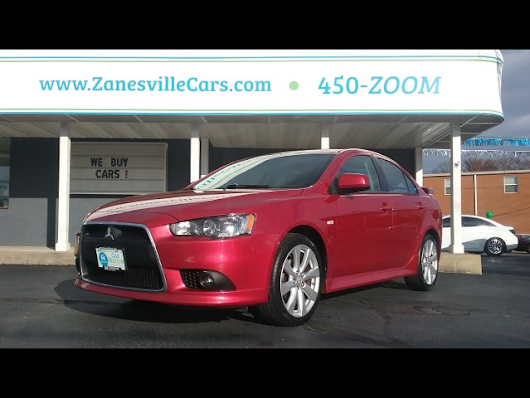 2014 Mitsubishi Lancer GT for sale at Car Nation | Used Cars Zanesville