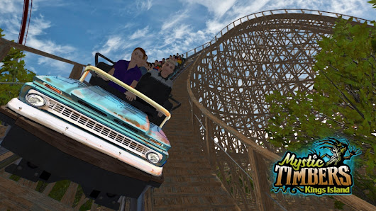 New Mystic Timbers Coaster at Kings Island in 2017