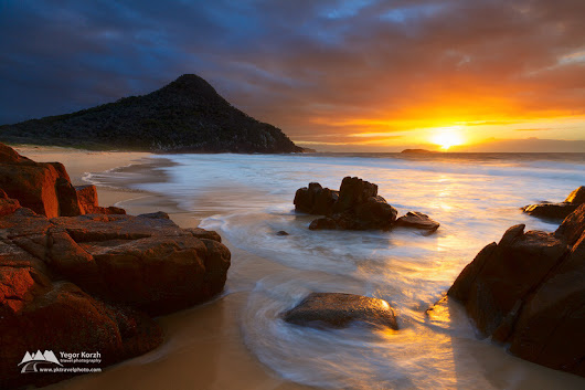 Zenith Beach, Port Stephens, NSW, Australia