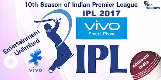 IPL 2017 Online Tickets Booking via Internet, IPL 10 Online Tickets | IPL-Indian Premier League
