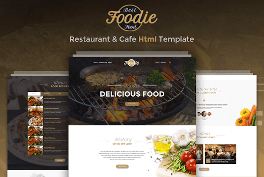 Foodie – Restaurant & Cafe Html Template